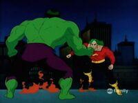 Hulk vs Samson