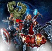Los Vengadores Movie Teaser Poster 2