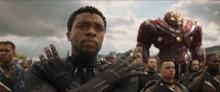 Чёрная пантера ведет свои войска в бой - Война бесконечности