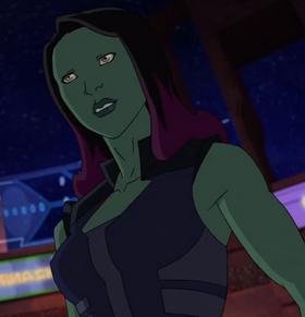 Gamora (Tierra-12041) de Marvel's Guardians of the Galaxy Temporada 1 4 001
