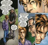 Ultimate Spider-Man 4 Uncle Ben is talking with Peter