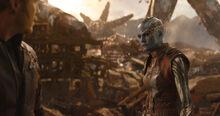 Небула поняла, что Гамора мертва - Война бесконечности