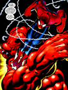 Spider-Man vs Red Hulk