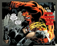Wolverine vs Rulk
