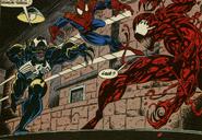 Venom y Spider-Man Vs Carnage