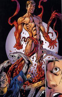 Ultimate Carnage transformed himself into Richard Parker