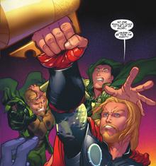 Тор желает обладать чашей - Thor, The Mighty Avenger