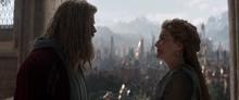 Тор разговаривает с Фриггой - Мстители Финал