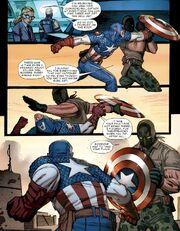 Ultimate Captain America Vol 1 1 Frank Simpson vs Steve Rogers