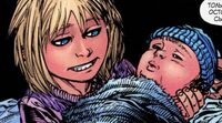 Young Sue and Jonny Storm Ultimate Fantastic Four 60