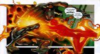 Three vs Human Torch Earth-1610