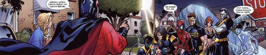 USM 120 Magneto vs Superheroes