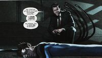 Reed Richards is catching Emil Burbank