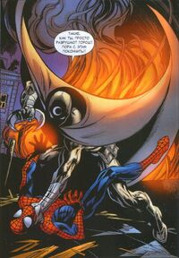 USM 80 Moon Knight vs Spider-Man