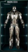 Armure d'Iron Man MK XXIII (Terre-199999)