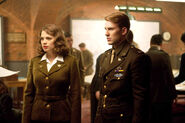 Margaret Carter (Earth-199999) and Steven Rogers (Earth-199999) from Captain America The First Avenger 0001