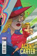 Agent Carter S.H.I.E.L.D. 50th Anniversary Vol 1 1 Ward Variant