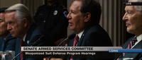 Iron Man 2 Senator Stern on Weaponized Suit Hearing