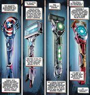 Avengers Cutting Edge Razors