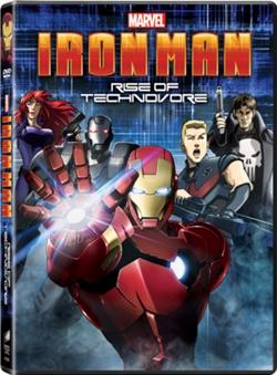 Iron Man Rise of Technovore DVD