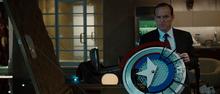 Колсон в мастерской Старка - Железный человек 2