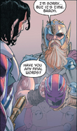Thor Odinson (Thor Corps) (Earth-15513) and James Braddock (Earth-81518) from Secret Wars Vol 1 2 001
