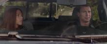 Романова и Роджерс в украденной машине - Другая война