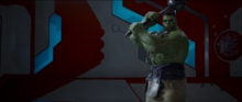 Халк собирается ударить Тора - Тор Рагнарек