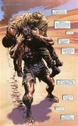 James Howlett (Earth-1610) and Nicholas Fury (Earth-1610) from Ultimate X-Men Vol 1 11 0001