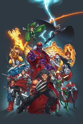 Official Handbook of the Marvel Universe Vol 4 11 Textless