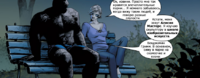 Ben Grimm is meeting Alicia Masters Earth-1610