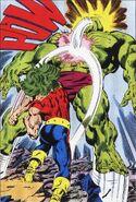 Doc Samson (Leonard Sanson) vs El Hulk (Robert Bruce Banner) (Tierra-616)