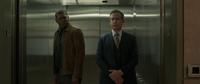 Nick Fury & Talos Keller in elevator Earth-199999