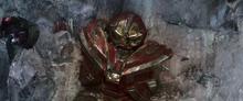Халк повержен Таносом - Война бесконечности