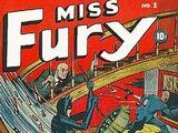 Miss Fury Nº 1