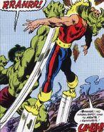 Robert Bruce Banner (Tierra-616) vs Leonard Sanson (Tierra-616)