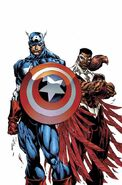 Captain America and The Falcon Vol 1 1 Textless