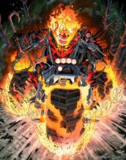 Thaddeus Ross (Earth-616) as Ghost Rider