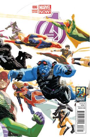50 aniversario de los Vengadores
