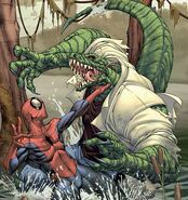 Lizard vs Spider-Man