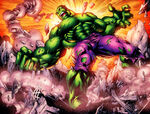 Bruce Banner (Earth-1610) from Ultimatum Spider-Man Requiem Vol 1 2 page --