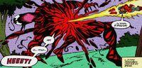 Firestar tries to kill Carnage