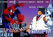 The Amazing Spider-Man vs. The Kingpin (Sega Mega CD - intro screen)