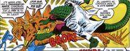Stegron el Hombre Dinosaurio vs El Lagarto