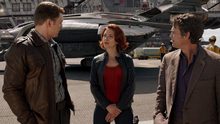 Steve Rogers, Romanoff and Bruce Banner