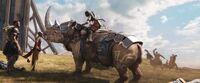 BP - Okoye tames rhinoceros
