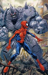 USMA 1 Spider-Man vs Rhino