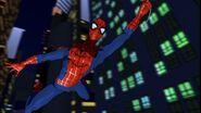 El Hombre araña en la serie