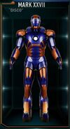 Armure d'Iron Man MK XXVII (Terre-199999)
