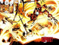 Nidavellir forging weapons for Tony Stark and Avengers Earth-616